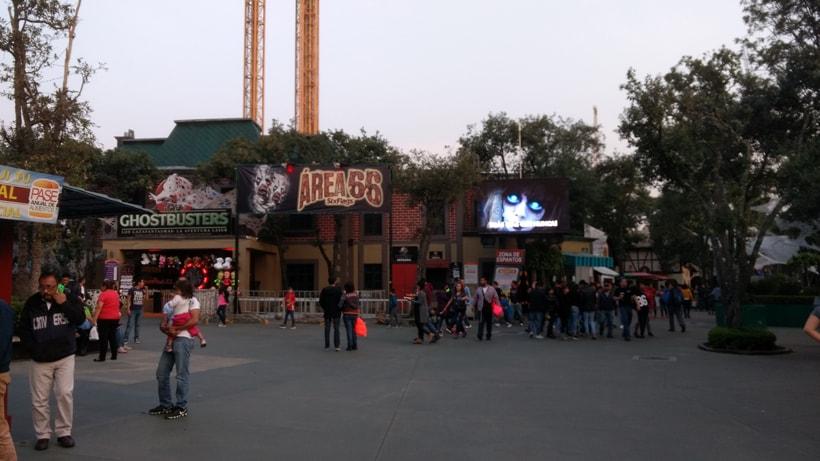 Nuestra experiencia en el Festival del Terror de Six Flags - Power Items