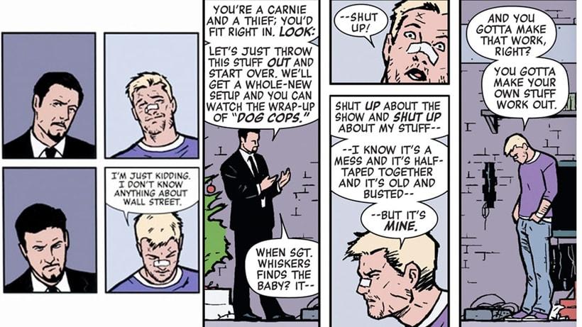 Hawkeye: esperando dar en el blanco - Power Items