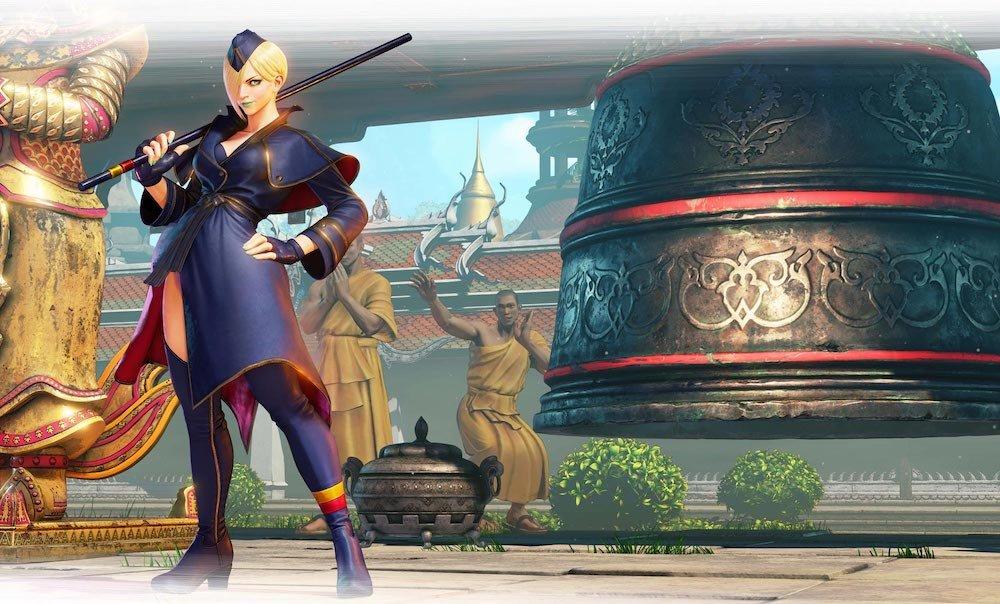 Falke llega a Street Fighter V - Power Items