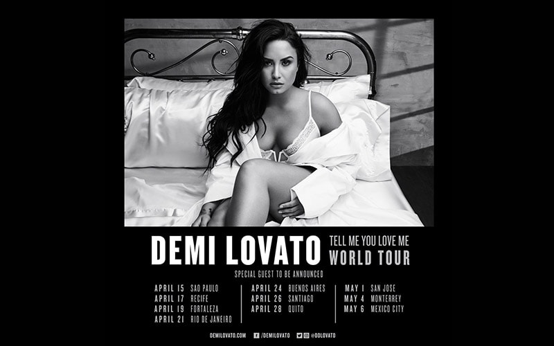 Demi Lovato viene a México en concierto - Power Items