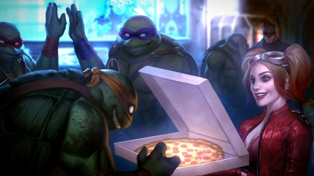 Jugando con las Tortugas Ninja en Injustice 2