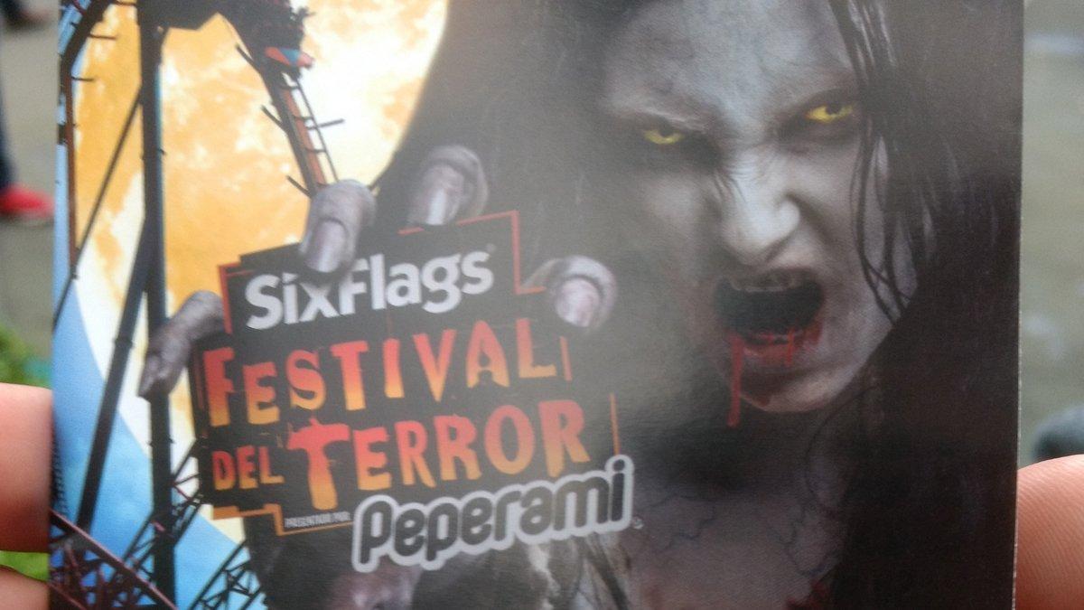 Visitando el festival del terror Six Flags 2018