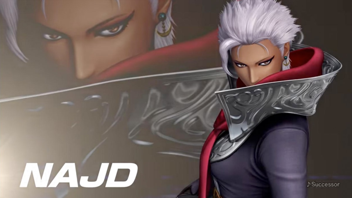 Najd se une al elenco de The King of Fighters XIV