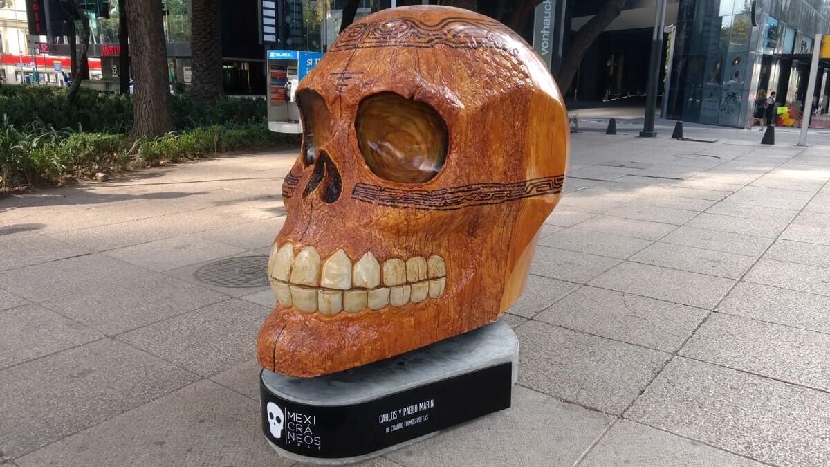 Mexicráneos: un tributo que embellece a la muerte