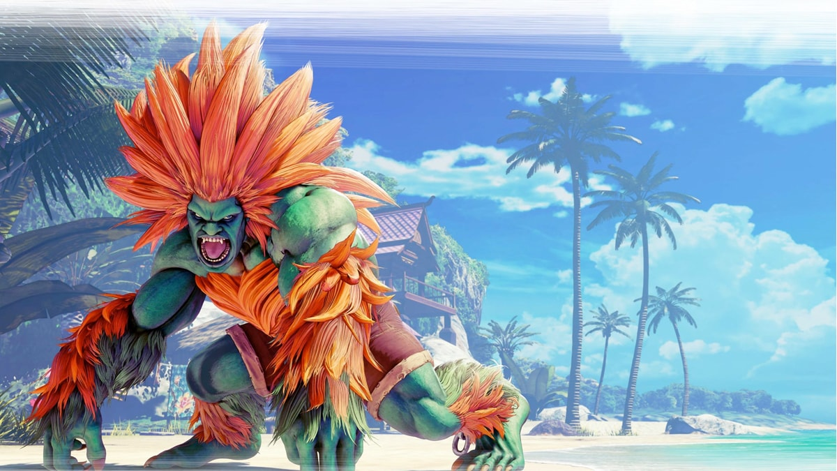 Blanka regresa a Street Fighter V