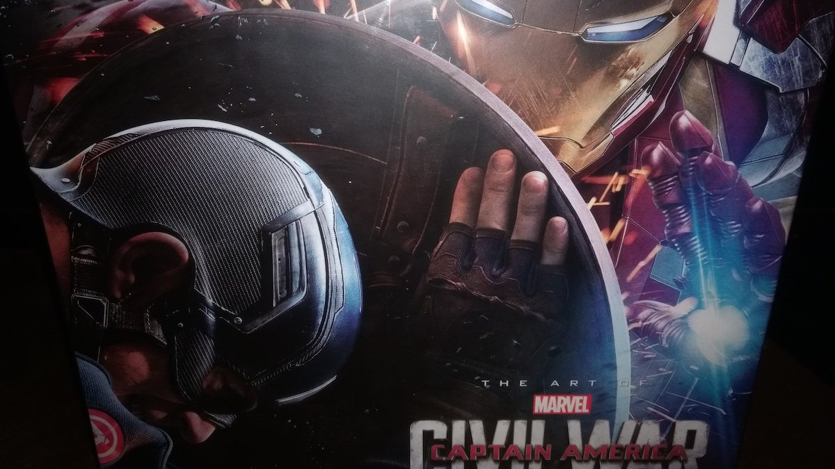 ¡Gana el libro de arte de 'Captain America: Civil War'!