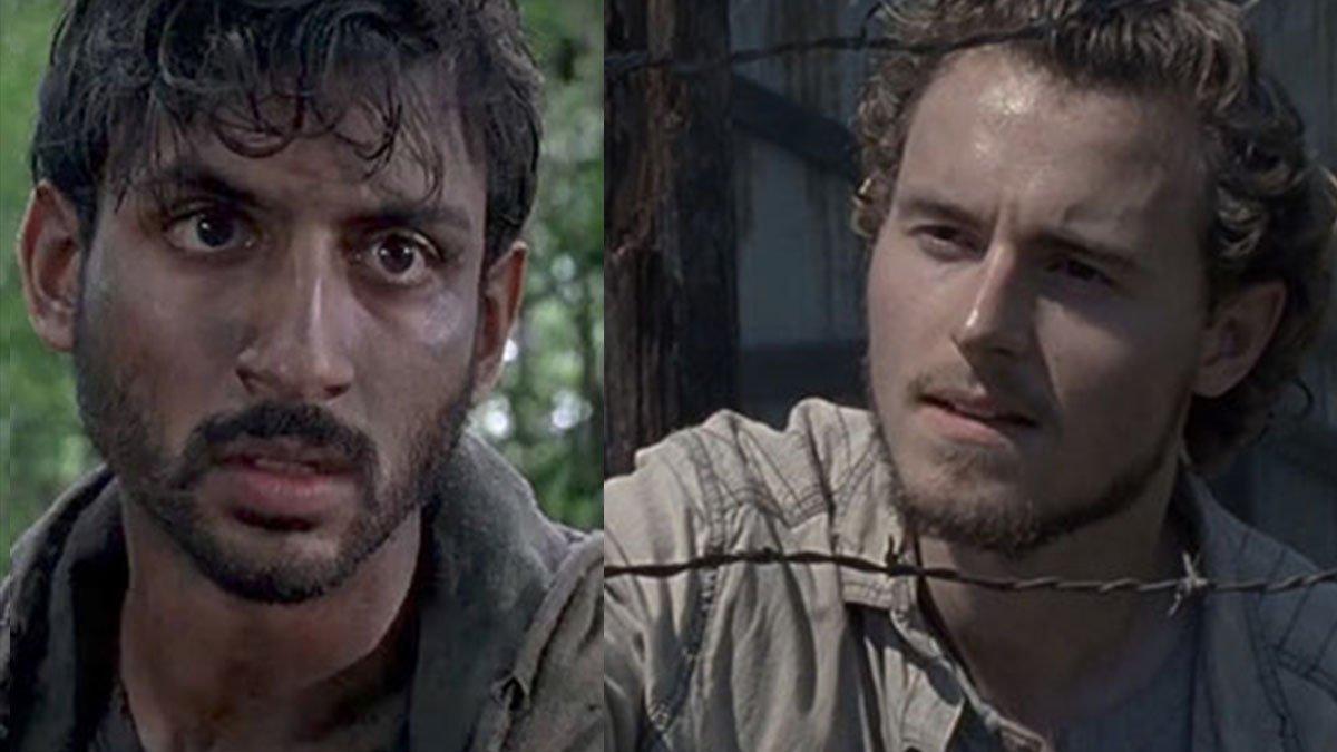 Siddiq y Alden pasan a regulares en The Walking Dead