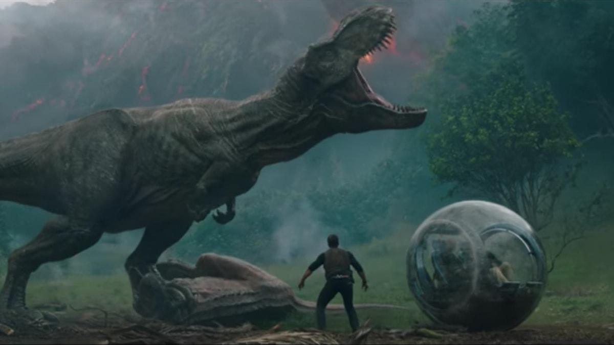 Más que impactante el primer tráiler de 'Jurassic World: Fallen Kingdom'