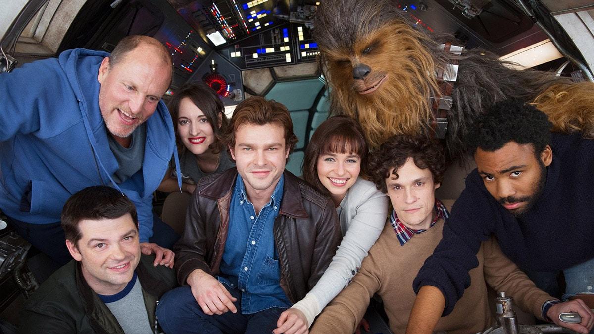 Mira los pósters de la nueva cinta de Han Solo al estilo de LEGO