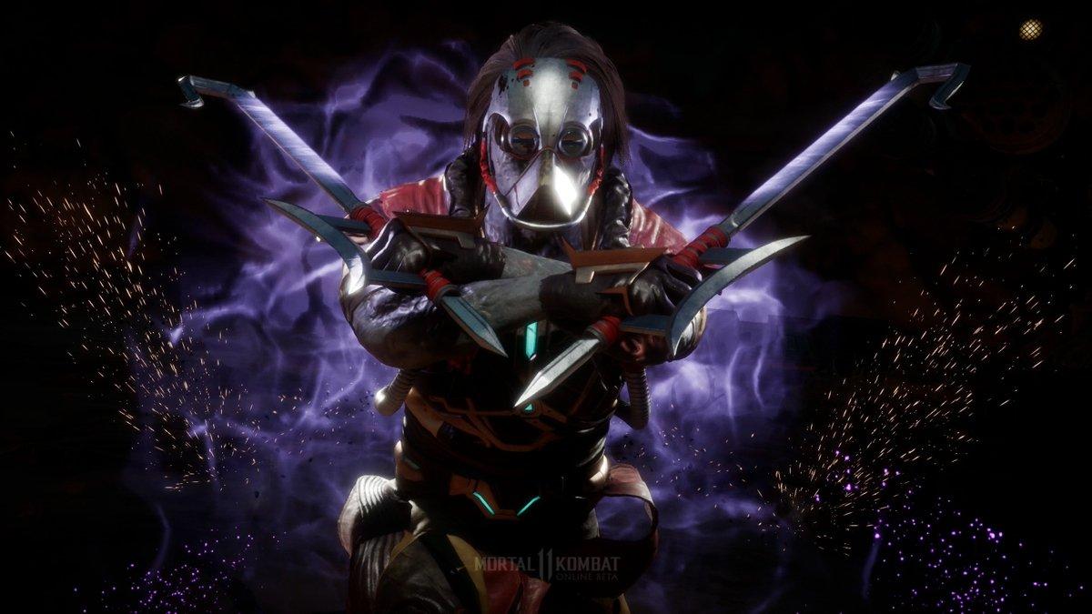 Jugando la beta de Mortal Kombat 11