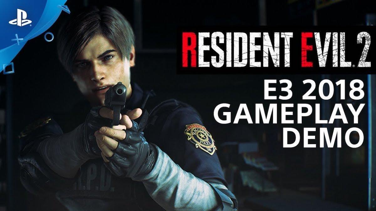 Nuevo gameplay de Resident Evil 2