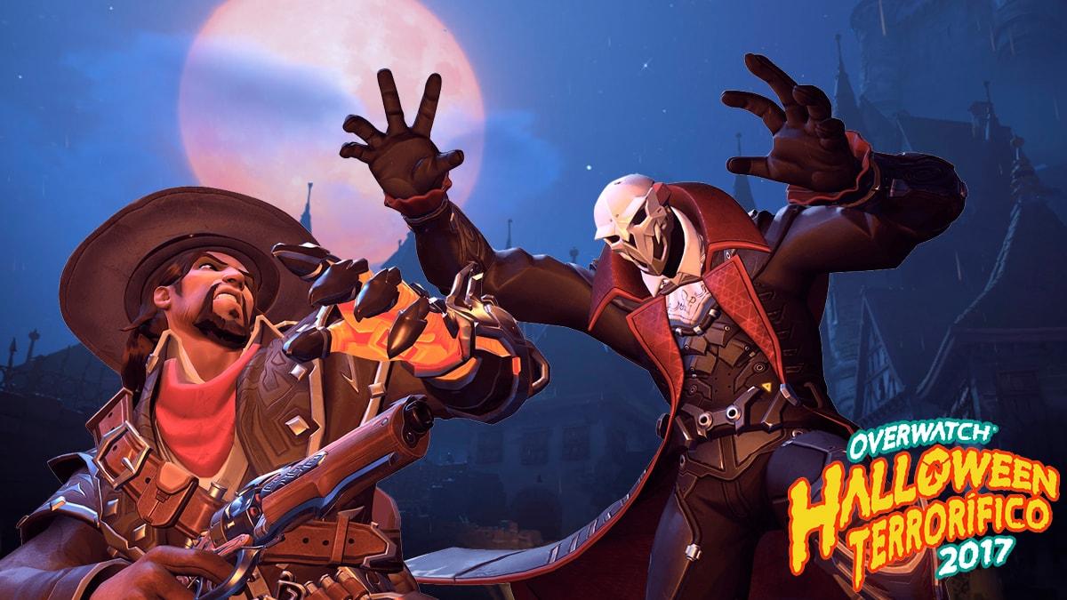 ¡Adéntrate al Halloween Terrorífico de Overwatch!