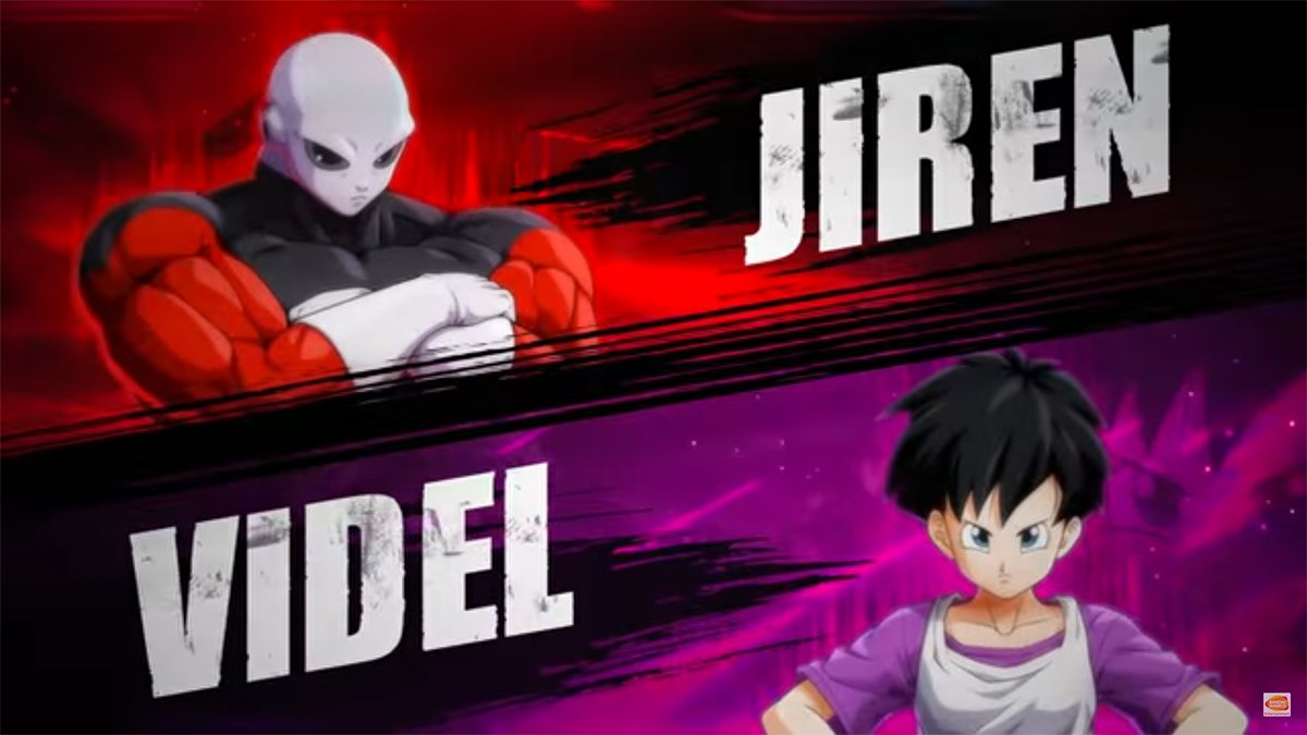 Jiren y Videl se integran a Dragon Ball FighterZ