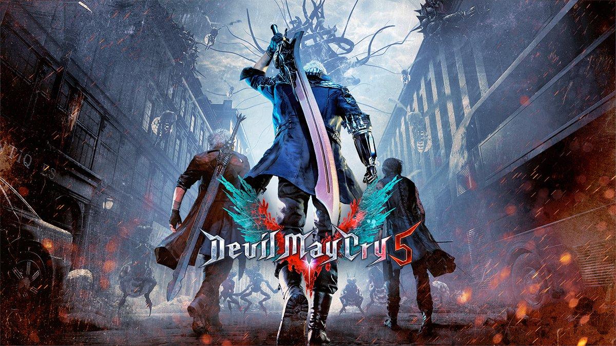 Devil May Cry 5: jugando el primer nivel