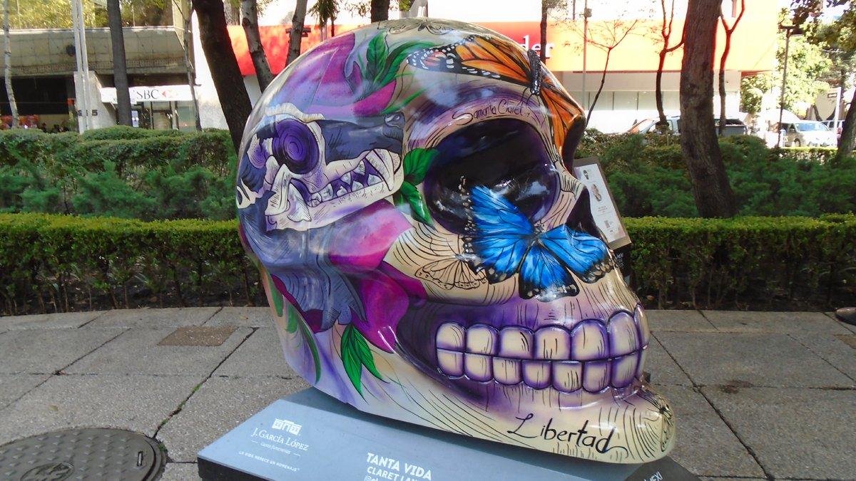 Visitando la exposición Mexicráneos 2019