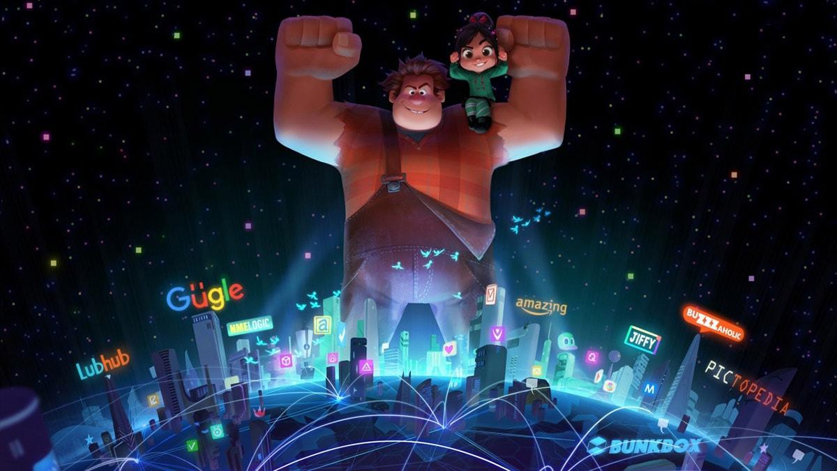 Disney lanza póster y nuevo teaser de 'Ralph Rompe Internet'