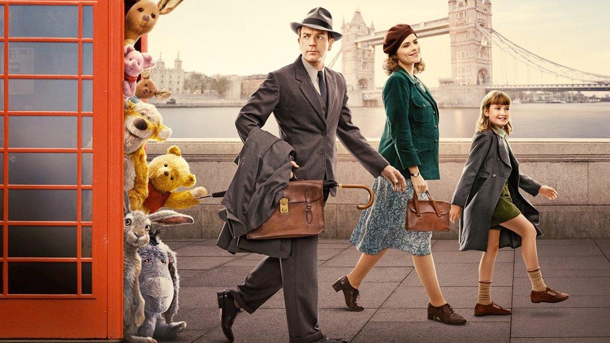 Christopher Robin y el regreso de Winnie the Pooh