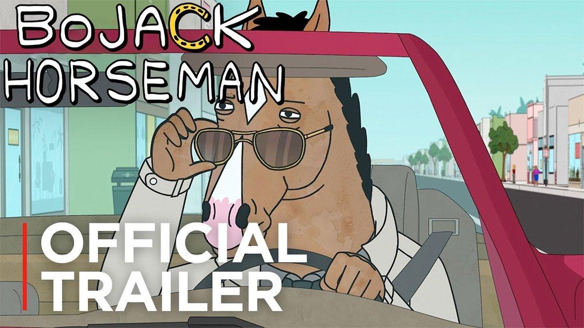 Mira el nuevo tráiler de la quinta temporada de BoJack Horseman