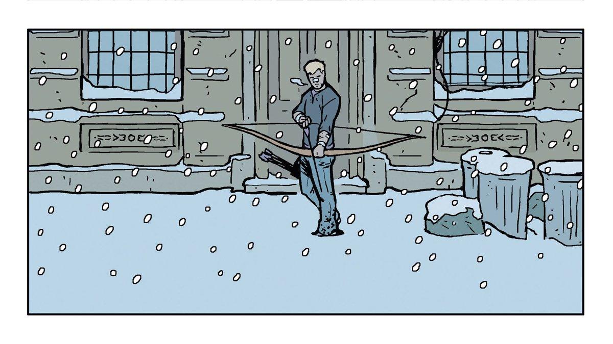 Reflexión de media noche: Hawkeye y los Winter Friends