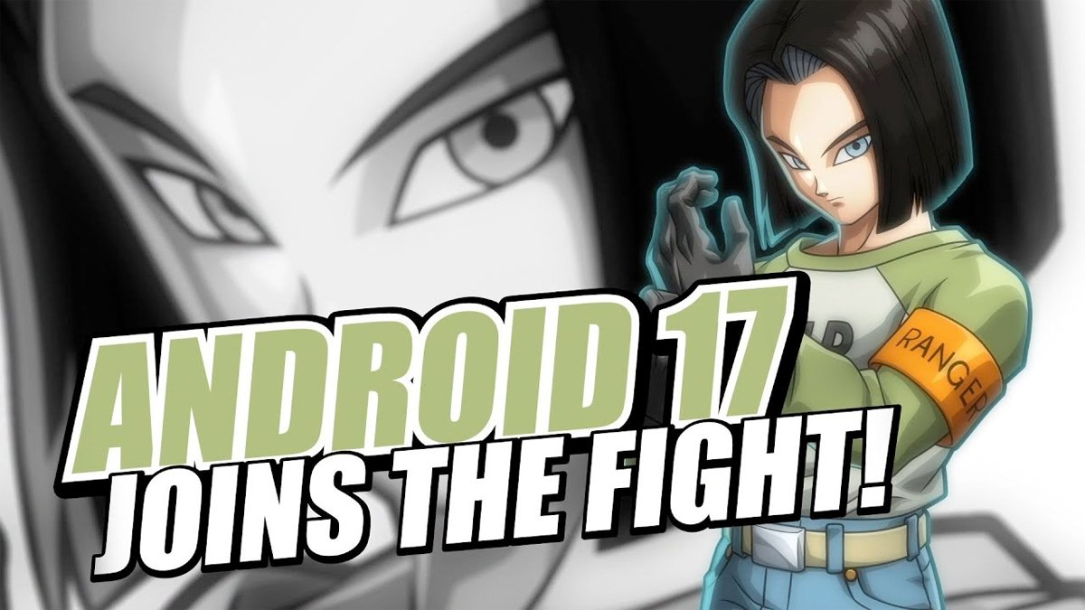 Androide 17 llega a Dragon Ball FighterZ