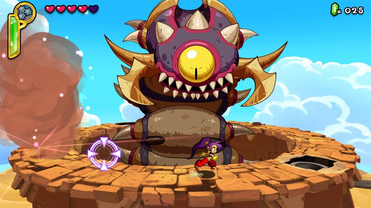 Los jefes de Shantae: Half-Genie Hero