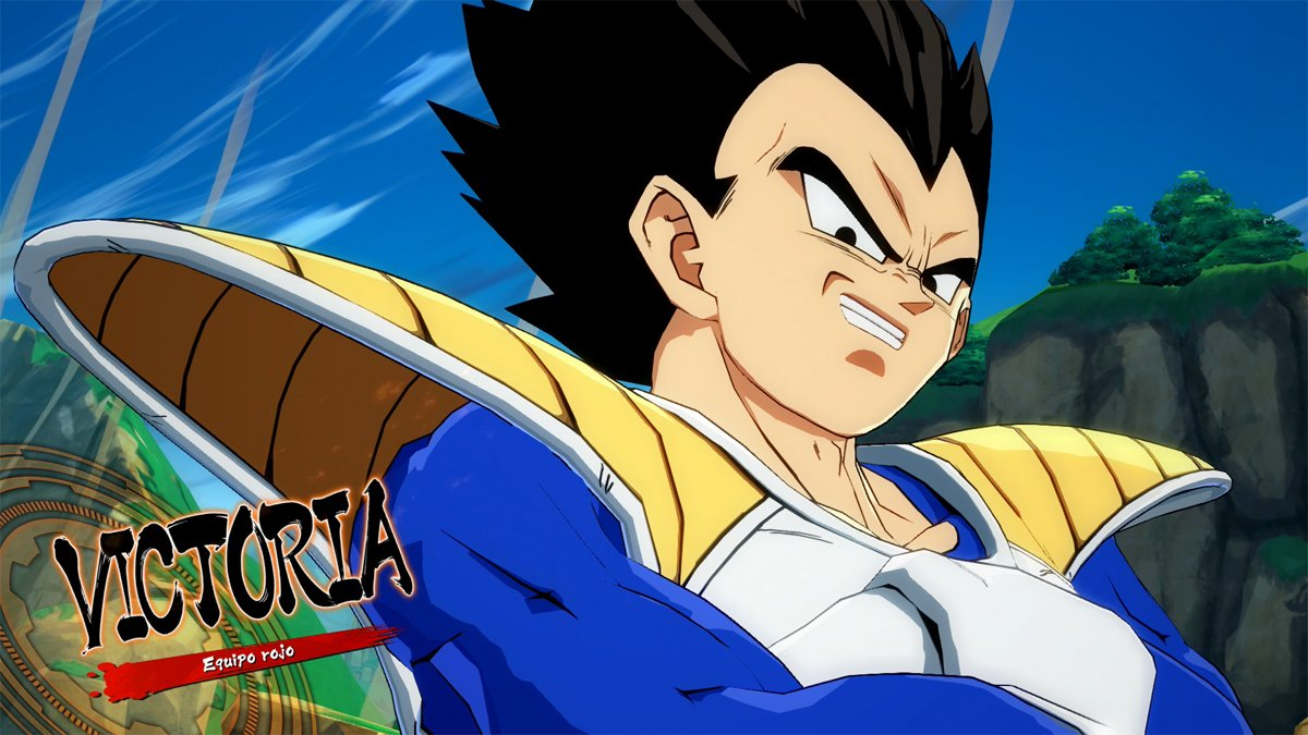 Jugando con Goku y Vegeta Base en Dragon Ball FighterZ