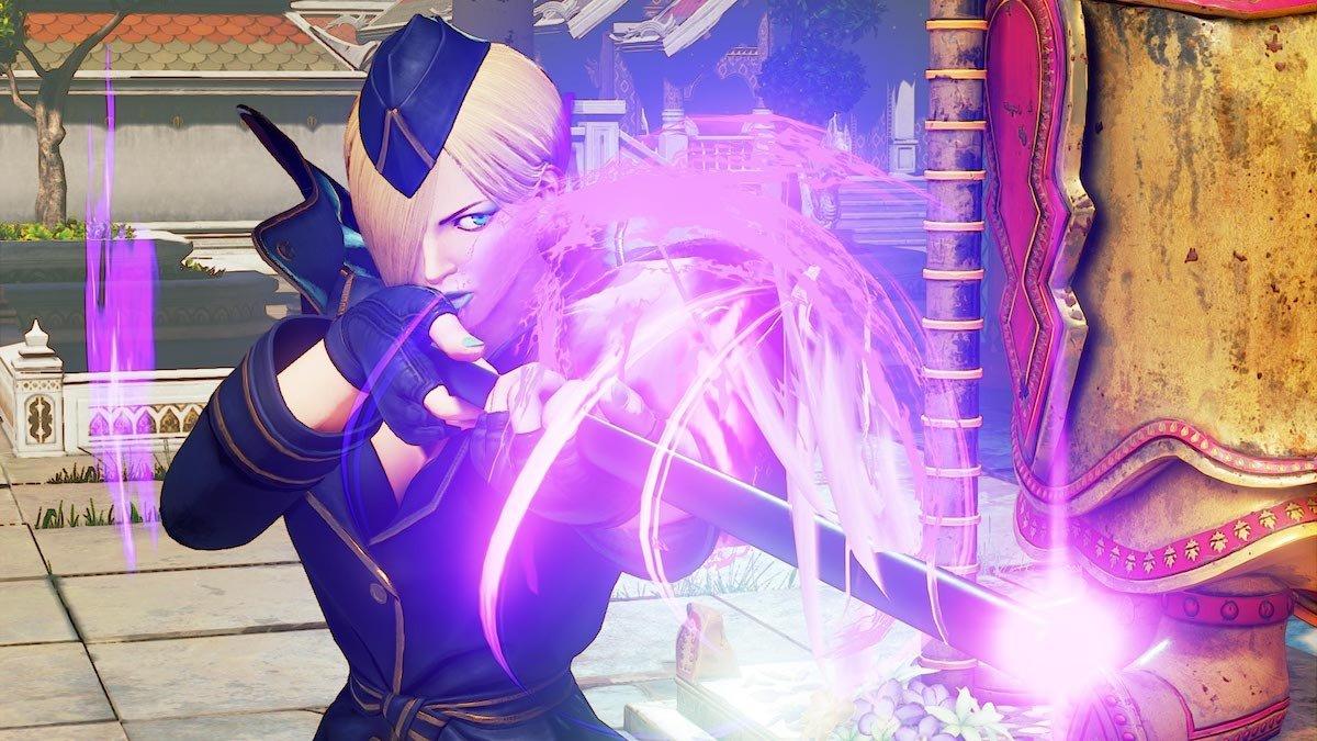 Falke llega a Street Fighter V