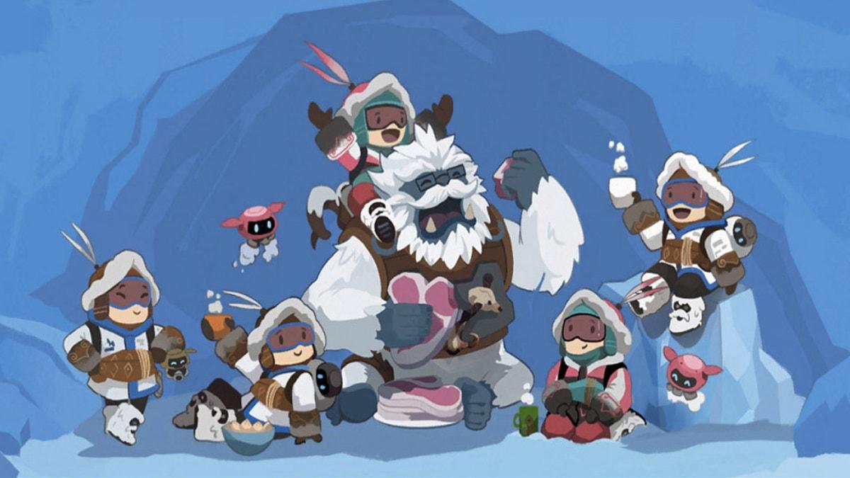 La navidad llegó a Overwatch: ¡a la caza del yeti!
