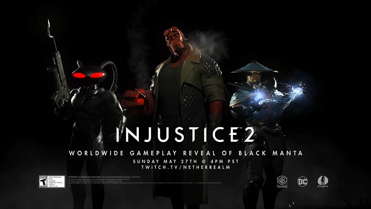 Injustice 2: Hellboy se une al juego