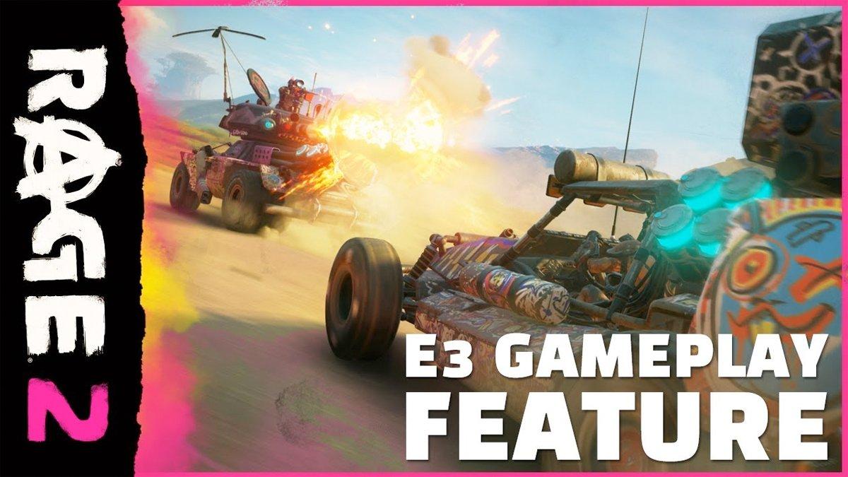 E3 2018: nuevo gameplay de RAGE 2