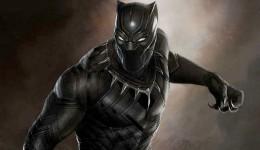 "Se revela póster oficial de ""Black Panther"""