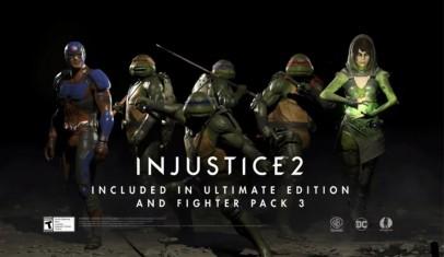 ¡Las Tortugas Ninja llegan a Injustice 2!