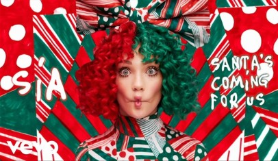 Sia lanza 'Santa's Coming For Us', su primer single navideño