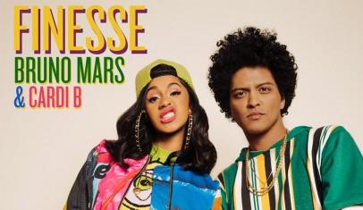Bruno Mars y Cardi B protagonizan un videoclip de 'Finesse' más que colorido