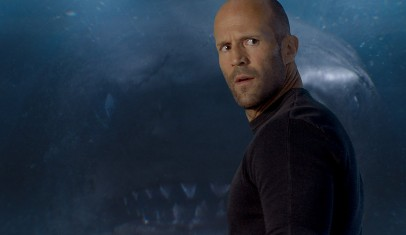 Lanzan primer tráiler de 'Megalodón' con Jason Statham como protagonista