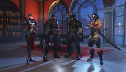 Jugando Overwatch: Retribution