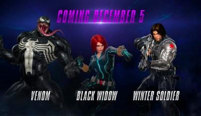 Marvel Vs. Capcom: Infinite muestra a Venom, Black Widow y Winter Soldier